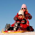 Girls sledding-150x150